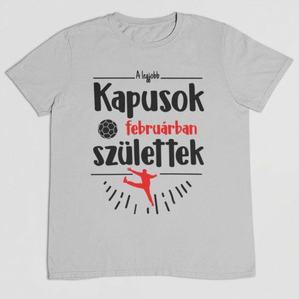 A legjobb kapusok (HÓNAPBAN) születtek VÁLASZTHATÓ HÓNAPPAL férfi póló