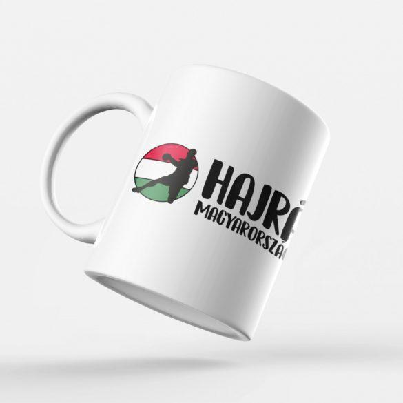 Hajrá Magyarország bögre