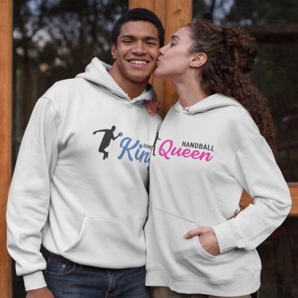 Handball King and Queen páros pulóver