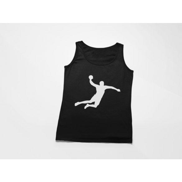 Handball silhouette női atléta