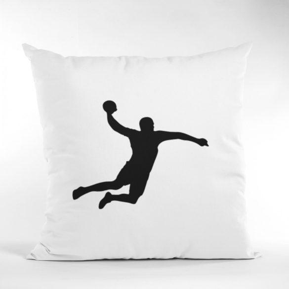 Handball silhuette párna