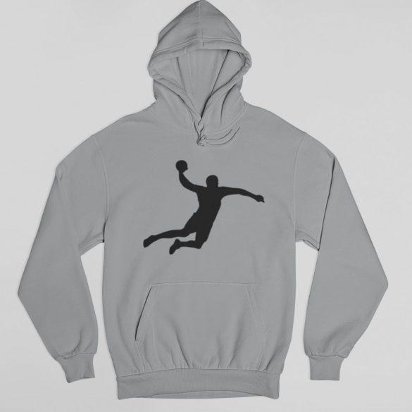 Handball silhuette pulóver