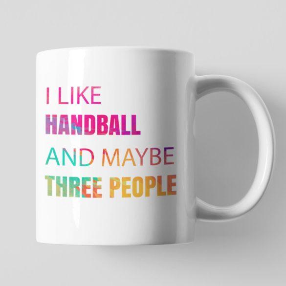 I like handball bögre