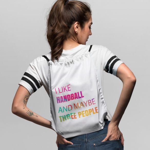 I like handball tornazsák