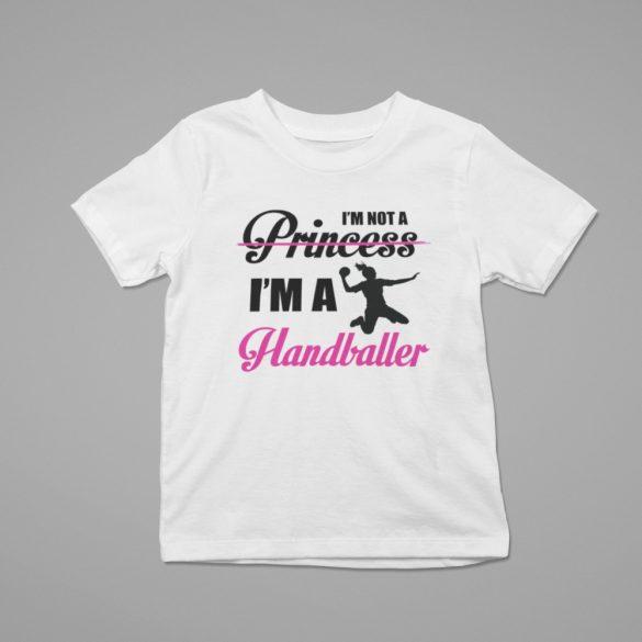 I'm not a princess gyerek póló