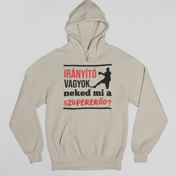 Irányító vagyok neked mi a szupererőd pulóver
