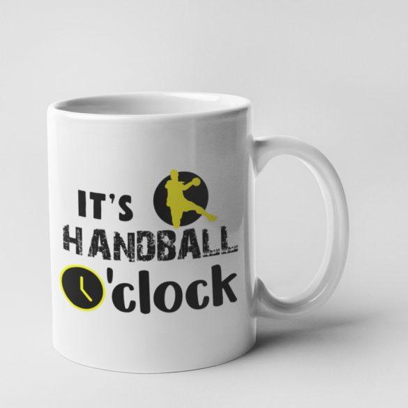 It's handball o'clock bögre