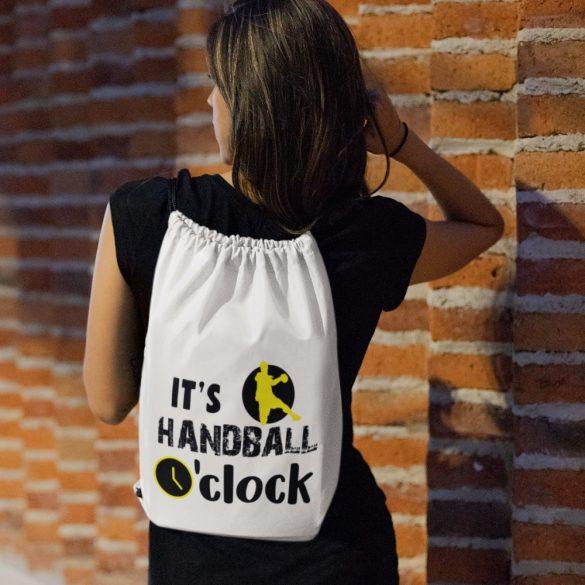 It's handball o'clock tornazsák