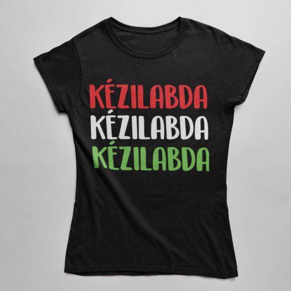 Kézilabda magyar színekben női póló
