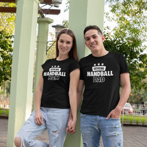 Official handball mom & dad páros póló
