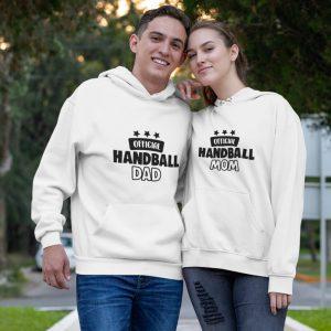 Official handball mom & dad páros pulóver