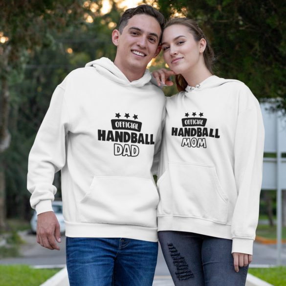 Official handball mom & dad páros pulóver