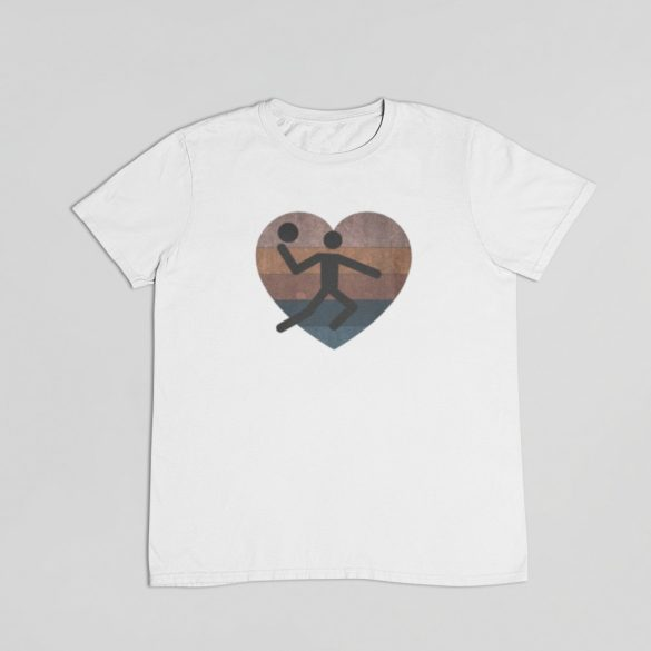 Retró kézilabdázó férfi póló
