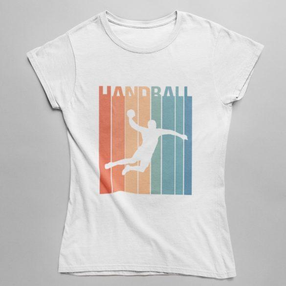 Vintage handball női póló